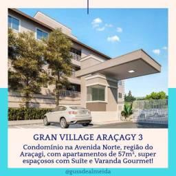 [67] Village Araçagy III 57m²/ Últimas Unidades!