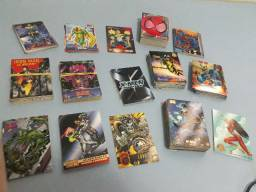 Lote Com 291 Cards Marvel, Dc, Spider-man, X-men E Etc.