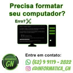 Precisa formatar seu Computador/Notebook?