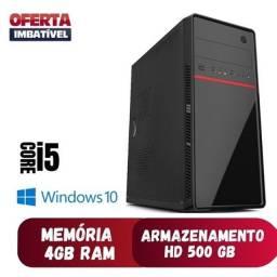 Título do anúncio: Imperdível! CPU ótima i5 - DDR3 - 4GB RAM - 500GB HD - garantia de 6 meses
