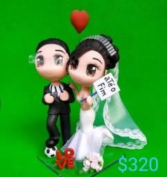 decoração para bolo de casamento