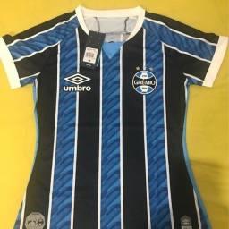 Babylook do Grêmio Tricolor 20/21 TAM G