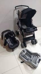 Carrinho + bebê conforto + base para carro
