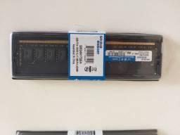Memória DDR4 4GB Desktop Golden Memory, novas lacradas.