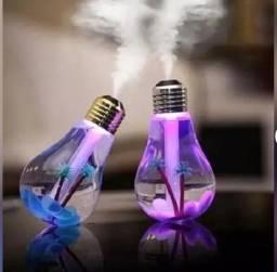 Título do anúncio: Umidificador Difusor De Ar Lâmpada Luminária Purificador Led