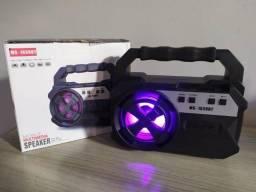 Caixa de som Bluetooth USB Sd Rádio