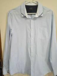 Camisa Social Masculina Azul Clara - Use e arrase!