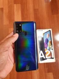 Samsung A21s  novo na caixa sem marca de uso!