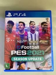 PES 2021 Jogo PS4