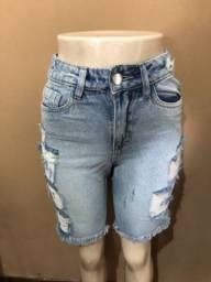 Vendo bermudas jeans feminina