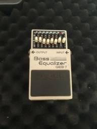 Pedal Bass Equalizer GEB-7 euqlizador da BOSS