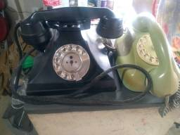 Título do anúncio: Dois Aparelhos de Telefone Antigos
