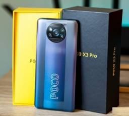 Título do anúncio: Xiaomi Poco X3 Pro 8gb Ram 256 Gb Snapdragon 860 - Cor Azul