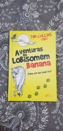 Livro As Aventuras do Lobisomen Banana