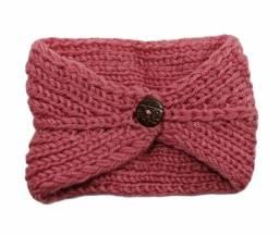 Headband turbante rosa