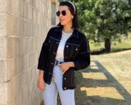 Título do anúncio:  jaqueta jeans feminina ou masculina p ao gg
