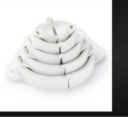 Formas Para Pastel E Risoles Kit Com 05 + Envio Imediato - marca Ketu