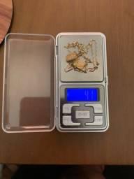 Escapulario de ouro 18k (750).