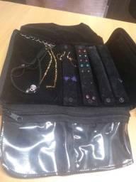 Jóias bijuterias e folheados
