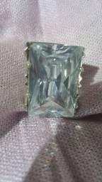 Anel prata de lei com pedra 320,00