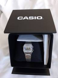 Relógio Casio original feminino + perfume da natura