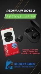 Título do anúncio: Airdots 2  e earbuds lacrados parcelo em até 12 vezes no cartão de crédito