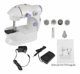 Mini Máquina De Costura Doméstica Portátil Bivolt