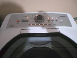 Título do anúncio: Vendo máquina de lavar roupa 15k impecável tudo ok não e de concerto !