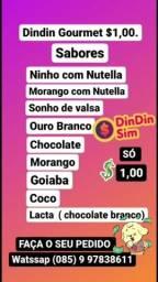 Título do anúncio:  $1,00 Real... dindin Gourmet