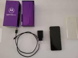 Título do anúncio: Motorola One Vision Bronze 128 GB