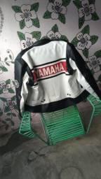 Título do anúncio: Jaqueta em couro yamaha