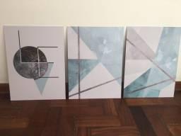 Kit 3 placas decorativas novas Ocean Love