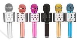 Microfone karaokê Bluetooth