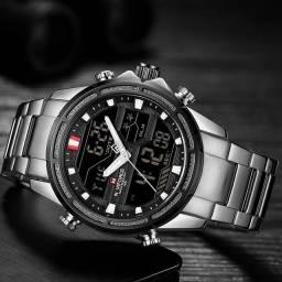 Título do anúncio: Relógio Original importado Marca Naviforce analógico e digital.