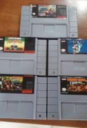 Título do anúncio: Fitas Super Nintendo (R$ 90 reais cada)