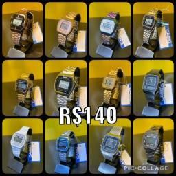 Relógio Casio retro vários modelos