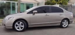 Honda Civic aut. 2009  LXS top. Estudo troca