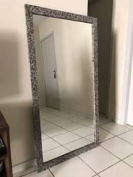 Espelho grande semi-novo