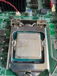 Título do anúncio: Kit i7 4770S placa mae top, 8gb de ram, com entrada para ssd m.2