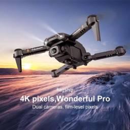 DRONE XT6 4K CÂMERA DUPLA HD