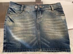 Saia Jeans tamanho 36