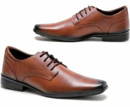 Sapato social marrom claro nº 41