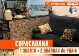 Copacabana - 1 Quartos a 2 quadras da praia
