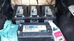 Baterias,controlador de carga e inversor