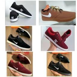Vendo sapatênis Nike e DC e Tênis Nike Air ( 120 com entrega)