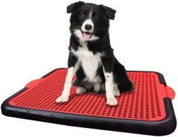 Título do anúncio: banheiro Sanitário canino novo para pet xixi no lugar certo novo