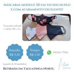 Título do anúncio: Promoção máscaras 3D
