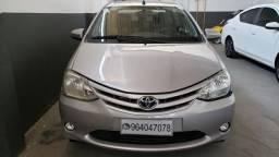 Toyota Etios Sedan X 1.5 Flex Completo, Única Dona, Preço Real Anunciado