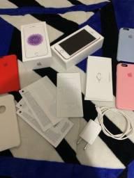 Título do anúncio: IPHONE 6s ROSE BATERIA 100%