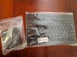 Kit mouse e teclado bluetooth